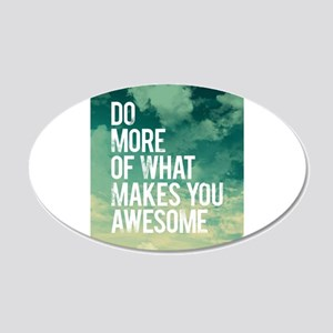 Do more Awesome Wall Decal