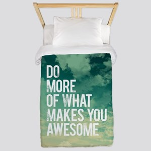 Do more Awesome Twin Duvet