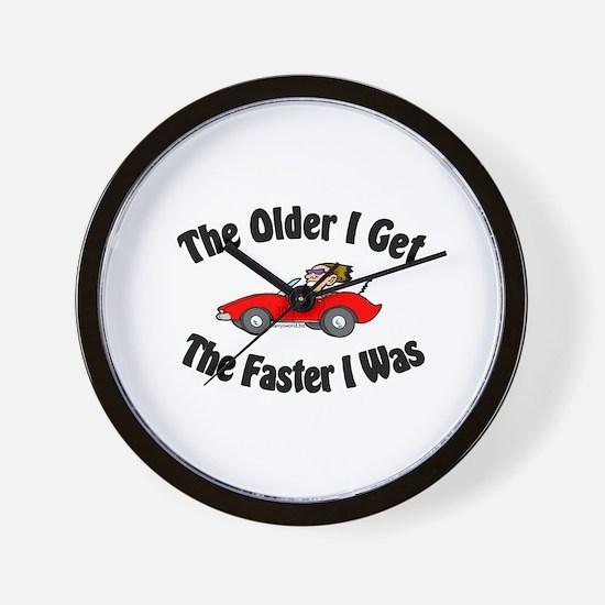 Older & Faster Wall Clock