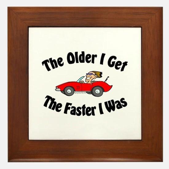 Older & Faster Framed Tile