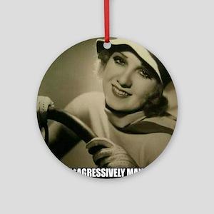 Aggressive Maneuver Ornament (Round)