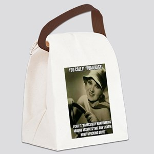 Aggressive Maneuver Canvas Lunch Bag