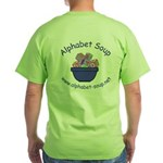 Alphabet Soup Green T-Shirt