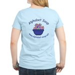 Alphabet Soup Women's Light T-Shirt