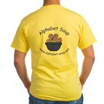 Alphabet Soup Yellow T-Shirt