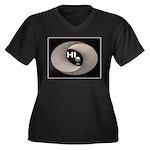 ALIEN HELLO Plus Size T-Shirt