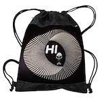 ALIEN HELLO Drawstring Bag