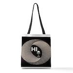 ALIEN HELLO Polyester Tote Bag