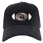 Alien Hello Baseball Hat Black Cap With Patch