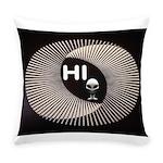 ALIEN HELLO Everyday Pillow