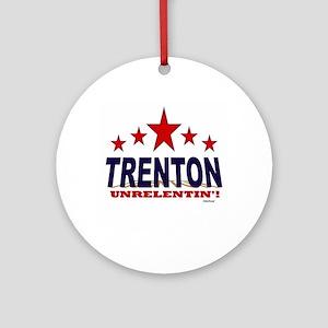 Trenton Unrelentin' Ornament (Round)