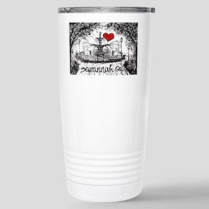 I love savannah Ga Stainless Steel Travel Mug