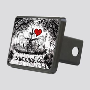 I love savannah Ga Rectangular Hitch Cover