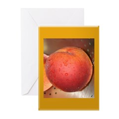 Peach Greeting Cards (Pk of 10)
