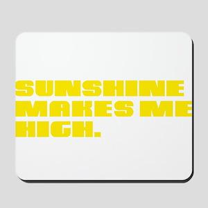 SUNSHINE HIGH Mousepad
