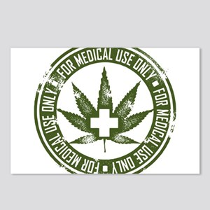 MMJ use only Postcards (Package of 8)