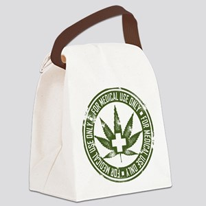 MMJ use only Canvas Lunch Bag