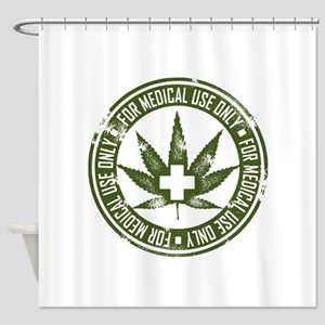 MMJ use only Shower Curtain