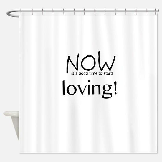 Cute Housewarming Shower Curtain