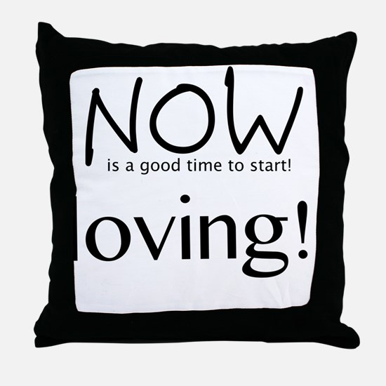 Cute Housewarming Throw Pillow