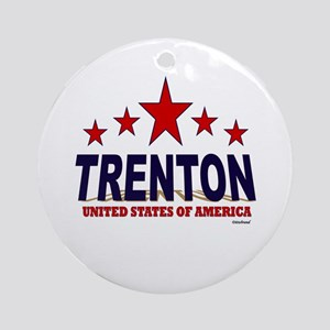 Trenton U.S.A. Ornament (Round)