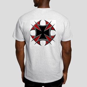 Double Maltese Biker Cross Light T-Shirt