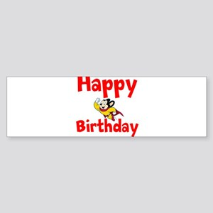 Happy Birthday Mighty Mouse Bumper Sticker