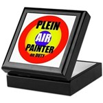 Plein Air Painter Keepsake Box