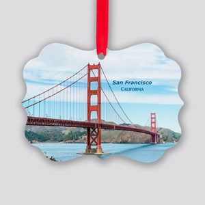 San Francisco Picture Ornament