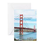 San Francisco Greeting Cards (Pk of 20)