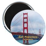 """San Francisco 2.25"""" Magnet (100 pack)"""