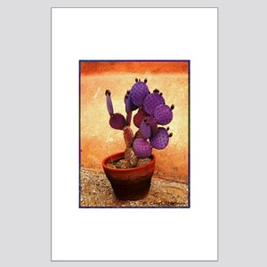 Purple Prickly Pear Posters