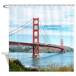 San Francisco Shower Curtain
