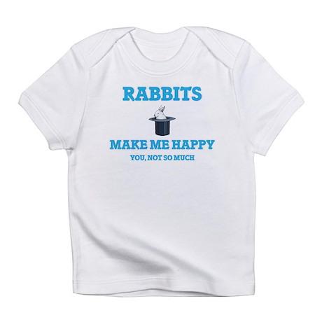 Rabbits Make Me Happy T-Shirt
