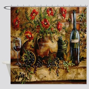 Vino Di Italia Shower Curtain