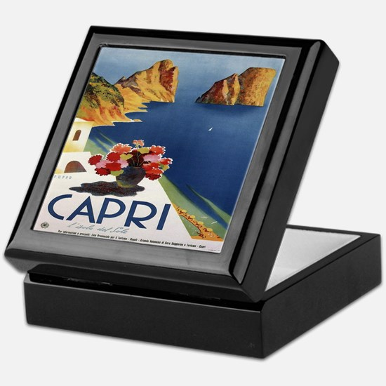 Vintage Capri Keepsake Box