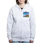 San Francisco Women's Zip Hoodie