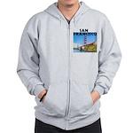 San Francisco Zip Hoodie