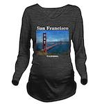 San Francisco Long Sleeve Maternity T-Shirt