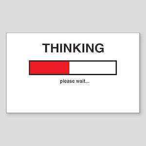 Thinking please wait... Sticker