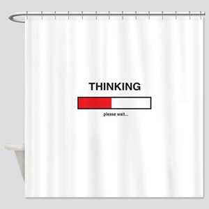 Thinking please wait... Shower Curtain