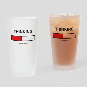 Thinking please wait... Drinking Glass