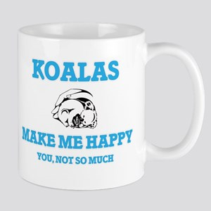Koalas Make Me Happy Mugs