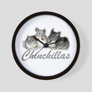 Chinchillas Wall Clock