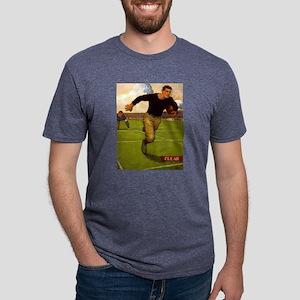 Vintage Running Back Football poster T-Shirt
