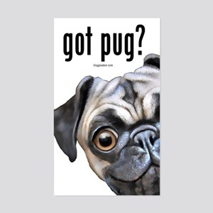 Got Pug? Sticker (Rectangle)