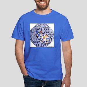 Dog Mosaic Dark T-Shirt