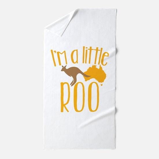 Cute Pouch Beach Towel