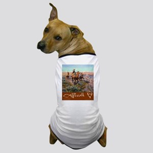 Charles M Russell Cowboys Dog T-Shirt