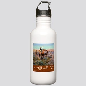 Charles M Russell Cowboys Water Bottle